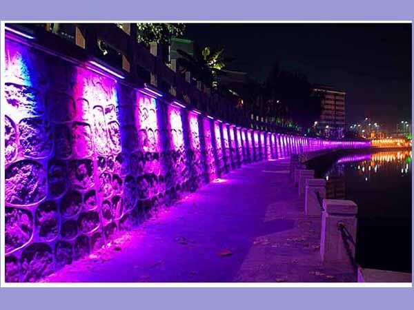وال واشر در نورپردازی نما و روشنایی