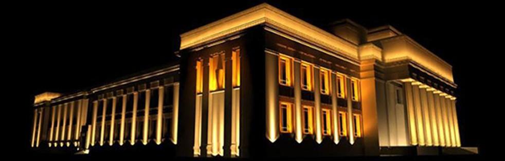 روشنایی ساختمان پروژکتور LED