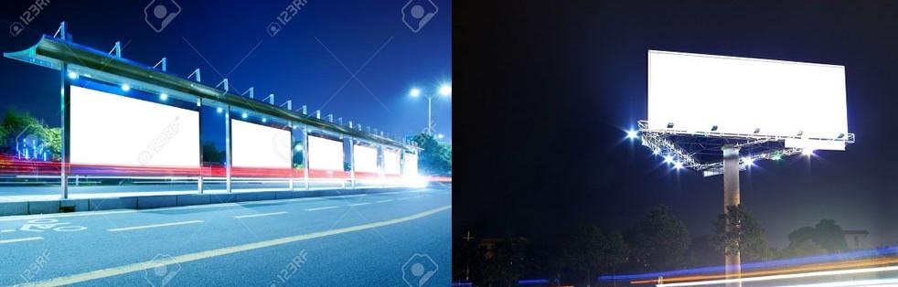 روشنایی تابلو  پروژکتور ال ای دی