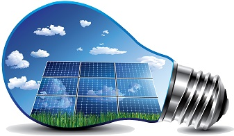 led solar چراغ خورشیدی
