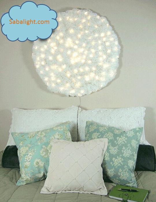 نورپردازی اتاق خواب 1