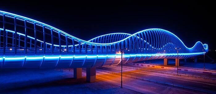 نورپردازی پل