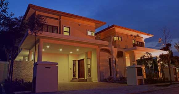 آموزش نورپردازی نمای ساختمان