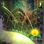 نورپردازی سازه یادواره شهدا