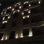 نورپردازی مجتمع مسکونی با نور ثابت
