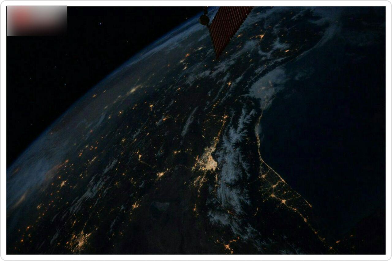 آلودگی نوری تهران