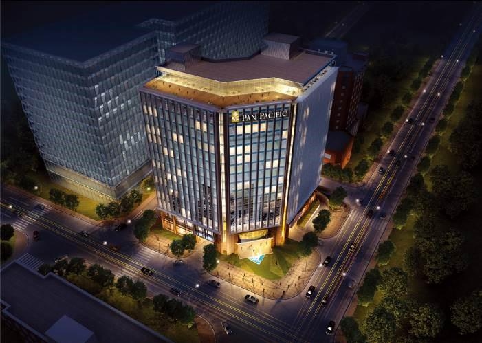 نورپردازی ساختمان های تجاری