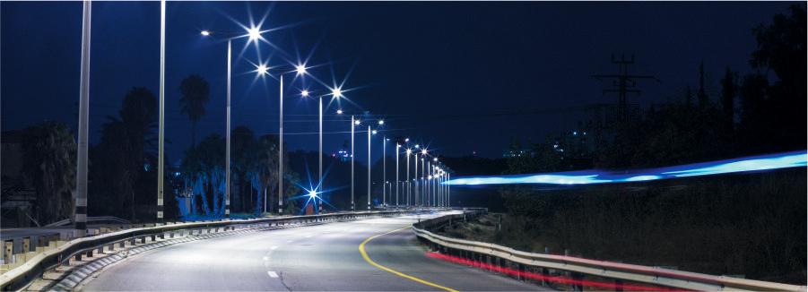 روشنایی و نورپردازی بزرگراه