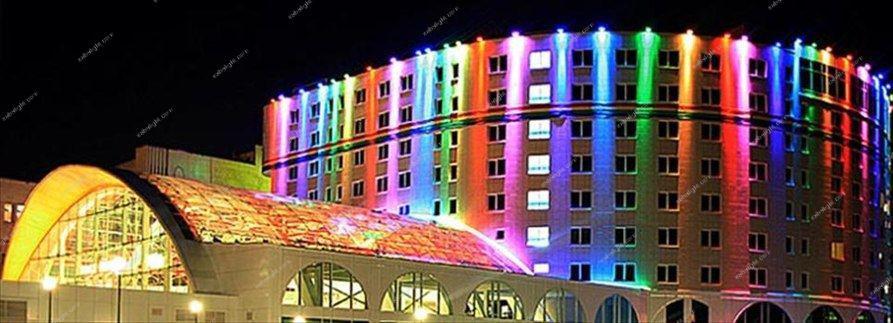 نورپردازی نمای ساختمان تجهیزات 1