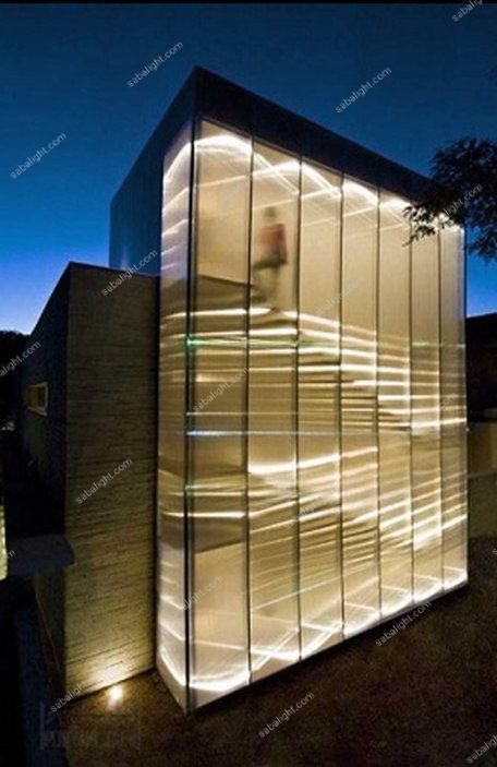 نورپردازی نمای ساختمان 3