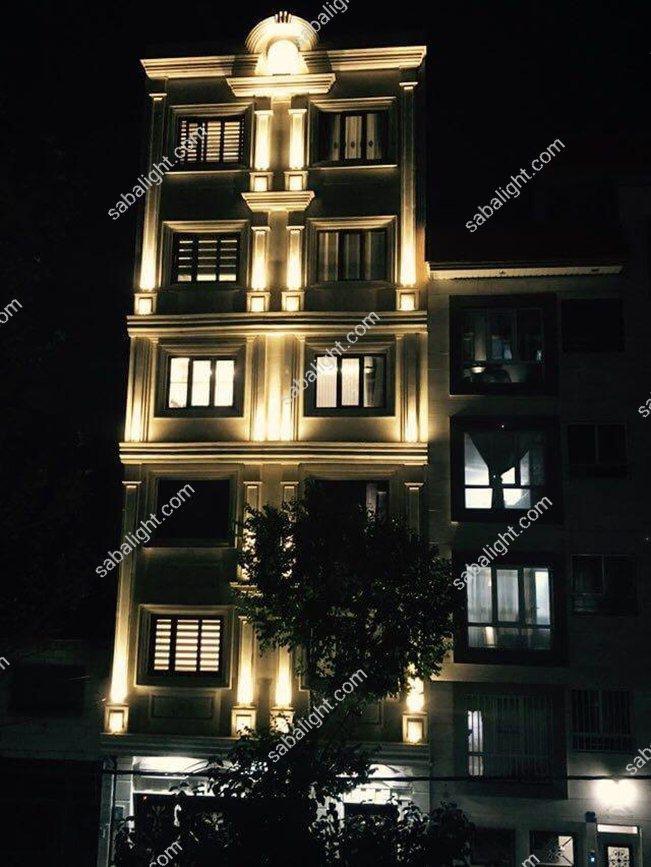 نورپردازی نمای ساختمان 8