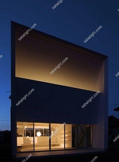 نورپردازی نمای ساختمان 9