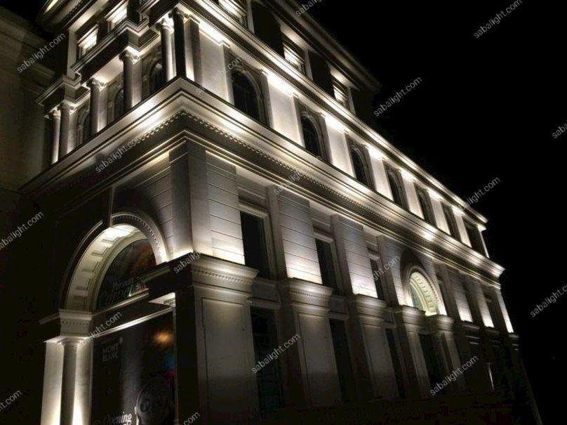نورپردازی نمای ساختمان2