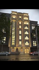 نمای عربی نورپردازی