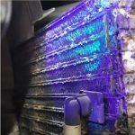 نشتیابی گاز کولر توسط مایع نشت یاب و چراغ قوه UV