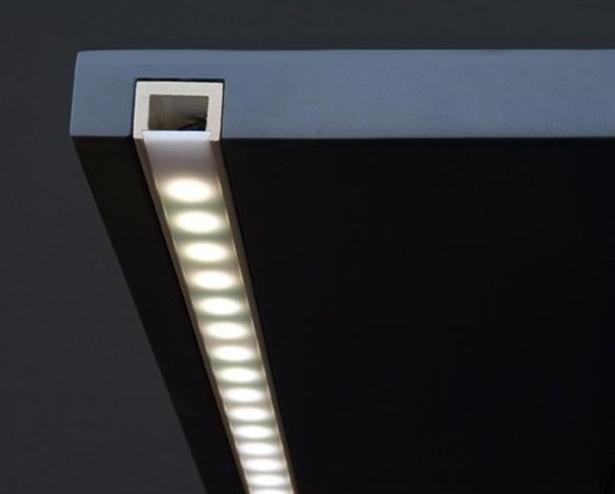 چراغ زیر کابینتی نور مخفی کابینت آشپزخانه توکار و روکار