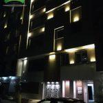 نورپردازی ساختمان با نمای مدرن
