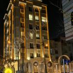 نورپردازی نمای ساختمان مسکونی مارینا